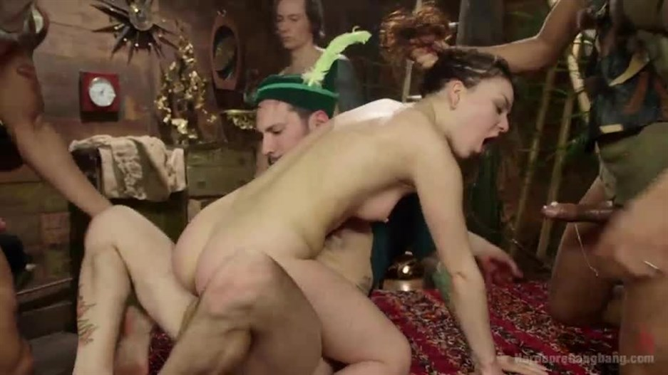 Dreams Do Cum True! Peter Pan And the Lost Boys Gang-Bang Parody!